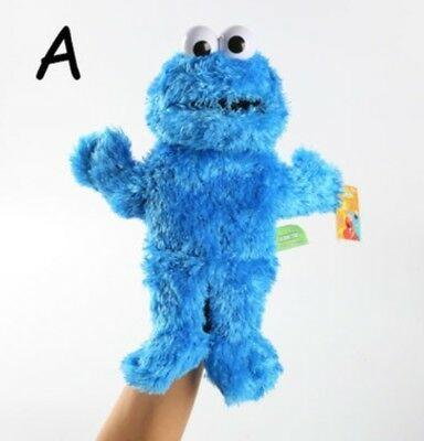 Sesame Street Elmo Plush Hand Puppet Play Games Doll Puppets Kids Birthday Gift