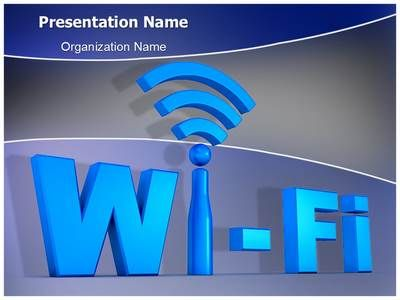 Wifi Network Technology Powerpoint Template Is One Of The Best