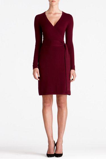 Linda Cashmere Dress   Dresses by DVF