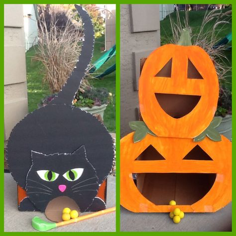Cute inexpensive party games inspired by Pinterest.   http://katiebrownhomeworkshop.com/scary-reindeer-games/  http://www.toddlerapproved.com/2010/10/diy-toddler-approved-halloween-carnival.html