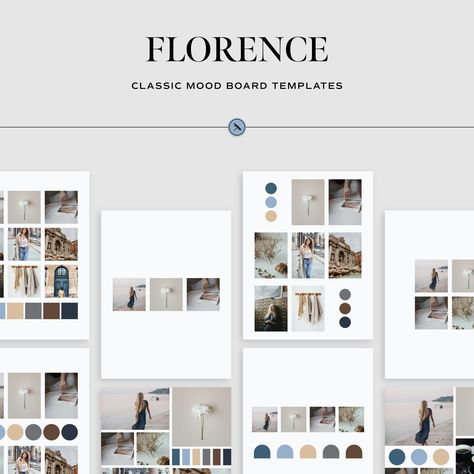 Florence - Classic Mood Board Templates