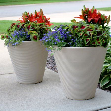 Patio Garden Flower Pots Flower Pots Outdoor Planters