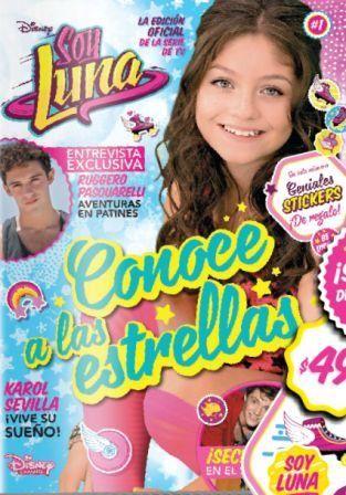 La Nación presentó una nueva propuesta de la mano de Disney Channel: la revista oficial de Soy Luna, una edición mensual con todas las novedades de los personajes favoritos de la novela del moment…
