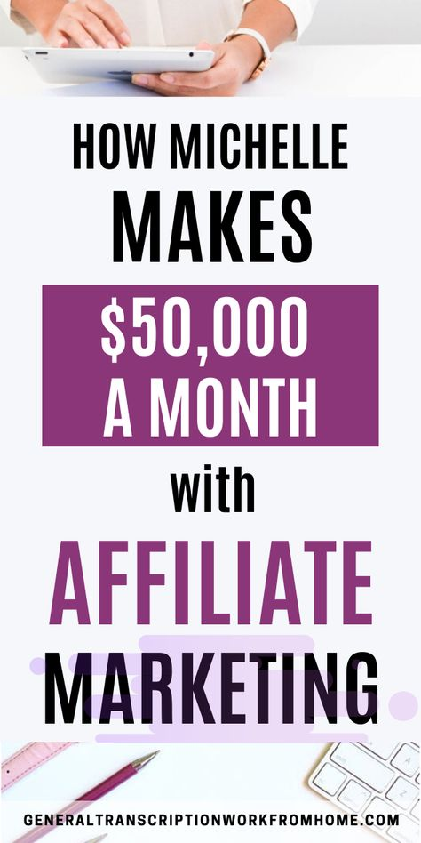 $50,000 a Month With Affiliate Marketing