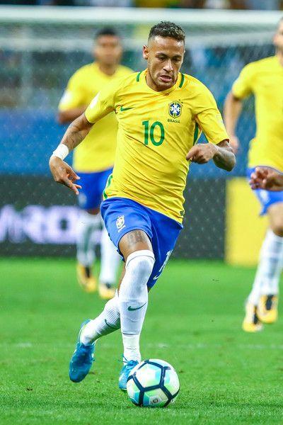 Neymar Jr Photos Photos Brazil V Equador 2018 Fifa World Cup Russia Qualifier Neymar Jr Neymar Brazil Football Team