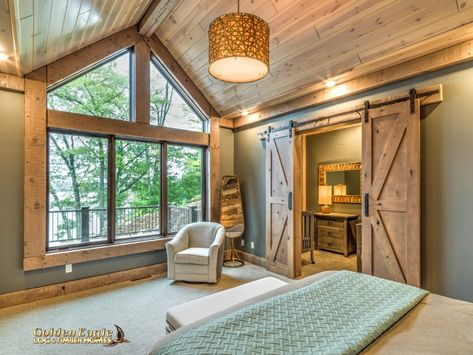log cabin home Golden Eagle Log und Timber Homes: Fotogalerie Gardening Facts Article Body: Gardenin Log Home Bedroom, Log Cabin Bedrooms, Log Cabin Living, Log Cabin Homes, Mountain Home Interiors, Log Home Interiors, Lake Cabin Interiors, Timber Frame Homes, Timber House