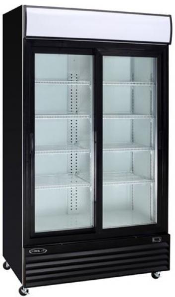 36cf Kool It 2 Door Commercial Glass Door Display Cooler Refrigerator Glass Door Refrigerator Commercial Glass Doors Glass Door