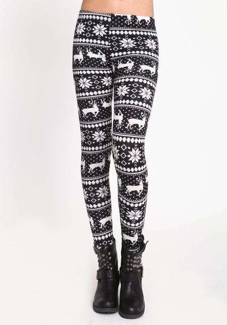 Reindeer Fair Isle leggings from loveculture.com(need) | Things I ...