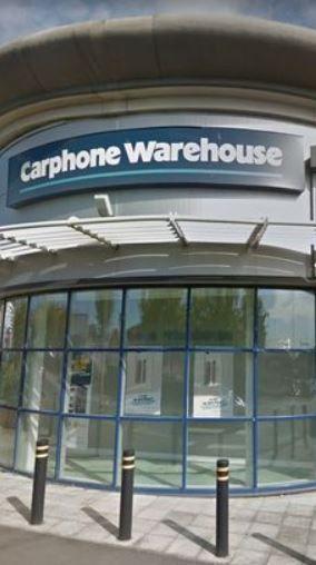 The Carphone Warehouse Hull Salon Services Full English