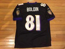 74a0c278 Anquan Boldin #81 Baltimore Ravens L Large 50 Reebok On Field jersey ...