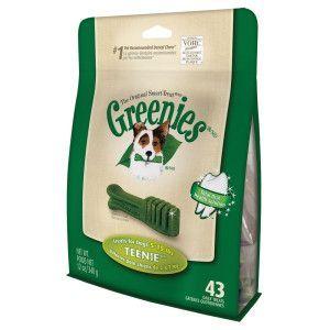 Greenies Teenie Daily Dog Treat Dental Treats Petsmart