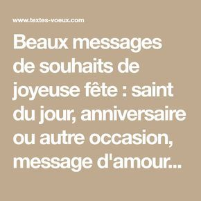 Messages Sms Pour Souhaiter Une Bonne Fête Sms Bonne Fete