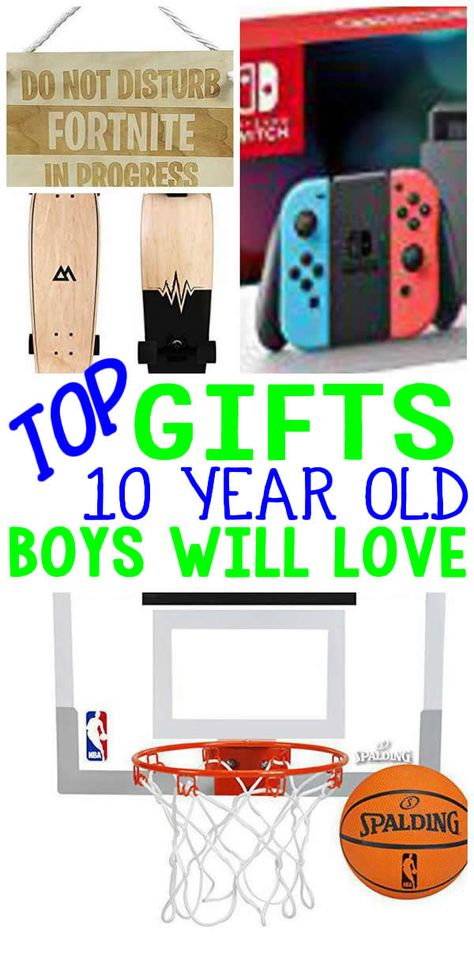 TOP Gifts 10 Year Old Boys Will Love The Ultimate Gift Guide For A