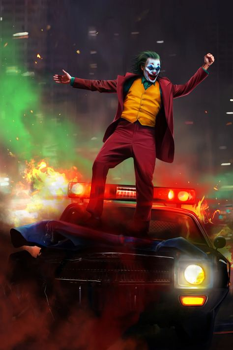 7.99US $ |Custom Canvas Wall Paintings Joker Poster Arthur Sticker Office Mural Joaquin Phoenix Wallpaper Bar Bedroom Decoration #0170#|Wall Stickers|   - AliExpress