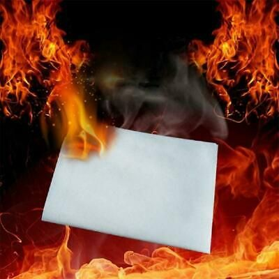 10 Sheets White Fire Paper Stage Magic Tricks Magician 20X50cm Accessories W2I5