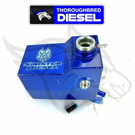 eBay #Sponsored Sinister sel Coolant Reservoir (Degas ... on lb7 turbo coolant hose, lb7 return line diagram, lb7 duramax,