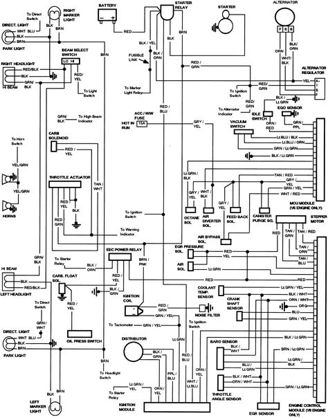 1983 Ford Truck F250 3 4 Ton P U 2wd 6 9l Mfi Diesel Ohv 8cyl Repair Guides Wiring Diagrams Wir Electrical Diagram Electrical Wiring Diagram Repair Guide