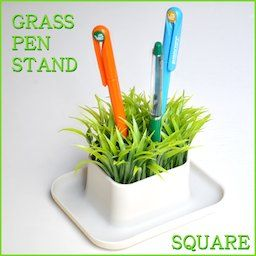 楽天市場 グラス ペンスタンド ポット Dhink Grass Pen Stand Pot デスクに癒しを与えてくれる草モチーフペンホルダー あす楽対応 売れ筋 D Forme ペンスタンド ペンホルダー ポット