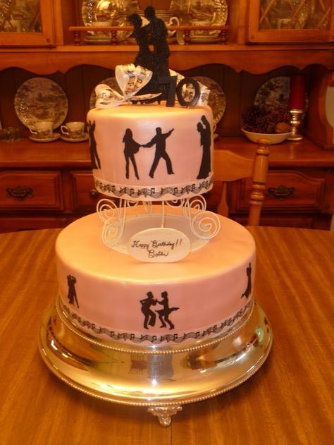 Icing On Top -- Cakes for Every Occasion: Ballroom Dancer Birthday Cake