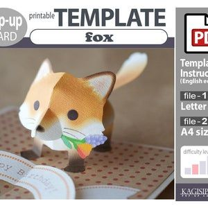 Pin On Pop Up Card Templates