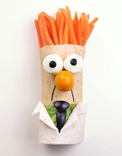 Muppets Recipe: Beaker BLT Wraps | Handmade Charlotte