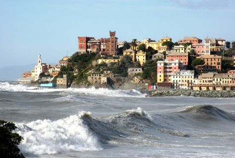 ''Mareggiata a Genova'' - Genova