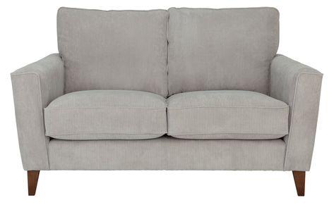 Buy Argos Home Berlin 2 Seater Fabric Sofa Silver Sofas In