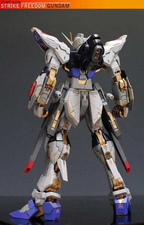 MG Strike Freedom Gundam - Customized Build