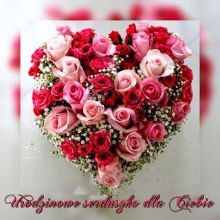 Gify I Obrazki Zyczenia Urodzinowe Floral Floral Wreath Rose