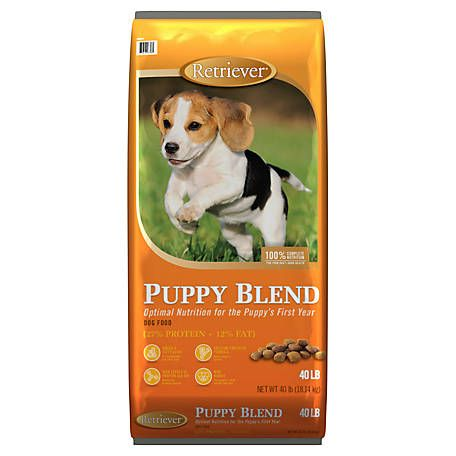 Retriever Puppy Blend Dog Food 40 Lb Bag At Tractor Supply Co