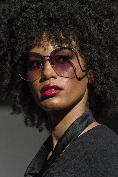 Negris Lebrum, Fall 2018 - The Most Dazzling Hair and Beauty Details From NYFW Fall 2018 - Photos