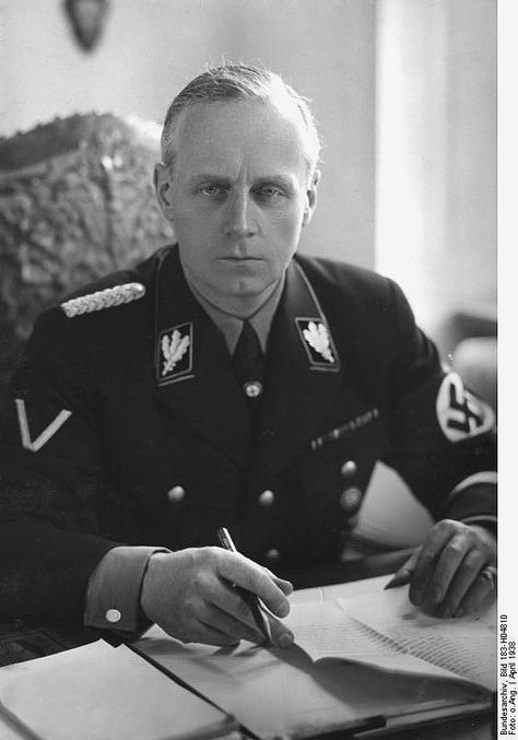 The Banality of Evil: Joachim von Ribbentrop (1893-1946) was Foreign Minister of Nazi Germany from 1938 until 1945 (April 1938). A businessman, many thought him superficial and lacking in talent. He was appointed as Ambassador to Britain in 1936, and Foreign Minister in February 1938. He was tried at Nuremberg and convicted of war crimes for his role in starting World War II and enabling the Holocaust. On October 16, 1946 he became the first of those sentenced to death to be hanged.