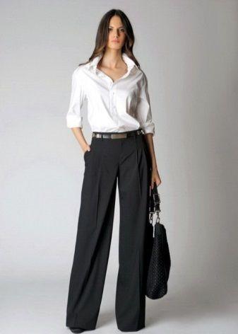 брюки для работы для девушек