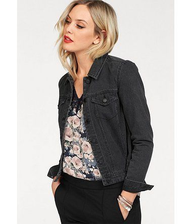 jacqueline de yong jeans jacke ashley