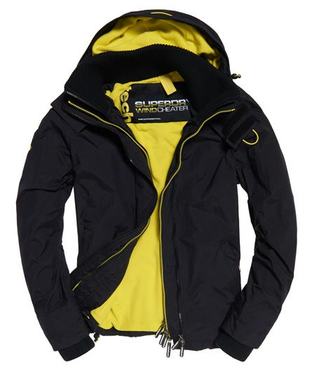Superdry Mens Microfibre Sd-Windcheater Jacket