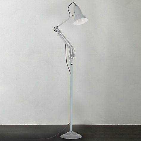 Buy Anglepoise Original 1227 Floorlamp, Dove Grey Online at johnlewis.com