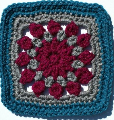375 best Granny Squares images on Pinterest | Crochet afghans ...