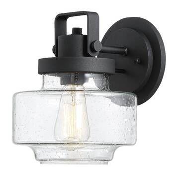 Triplehorn 2 Light Outdoor Wall Lantern Outdoor Sconces Black Outdoor Lights Outdoor Wall Lighting