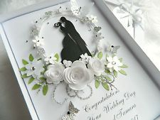 Find great deals for Handmade Personalised Card Wedding Day Anniversary Engagement Gift Box 29. Shop with confidence on eBay!