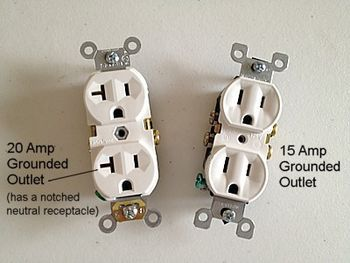 How To Replace Electrical Outlets With 12 Gauge Or 14 Gauge Wire Electrical Outlets Home Electrical Wiring Diy Electrical
