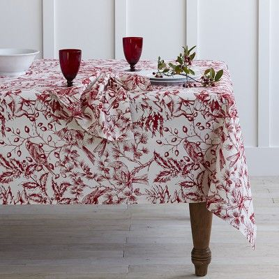 Perfect Holiday Toile Tablecloth Williams Sonoma | Decor U0026 Home | Pinterest | Toile,  Holidays And Holiday Decorating