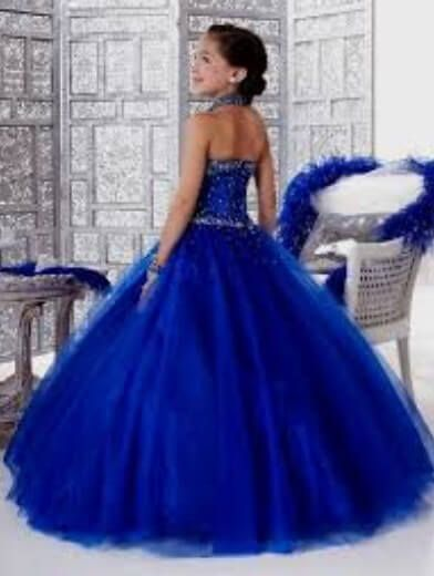 Blue Prom Dress Age 11 in 2020