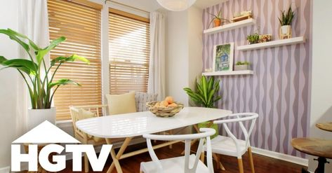 A Personality-Packed Eat-In Kitchen Makeover | HGTV