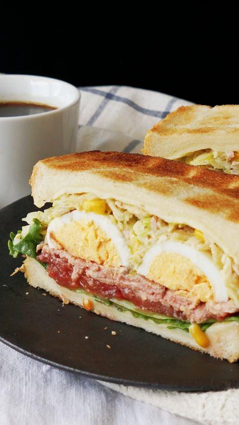 Potato Chip Cole Slaw Sandwich