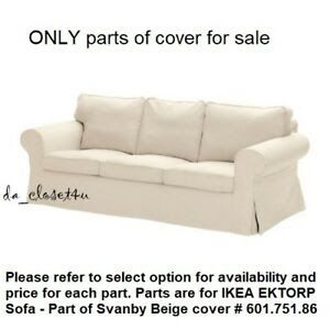 Details Zu Ikea Ektorp Cover Replacement Part X 1 For Ektorp Sofa Svanby Beige New Part Ikea Ektorp 2 Seat Sofa In 2020 Ektorp Sofa Ektorp Sofa Bed Ektorp Sofa Cover