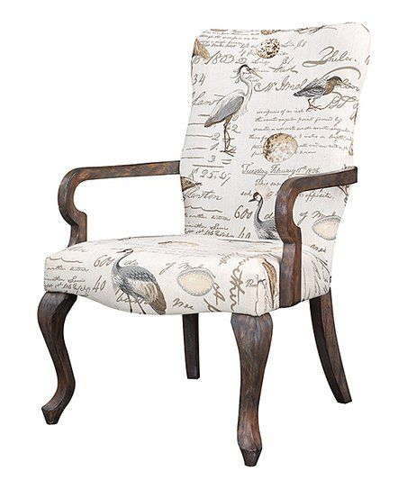 Gray Birds Accent Chair Zulily Accent Chairs Armchair Furniture