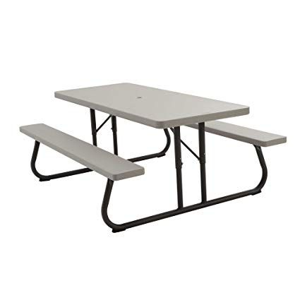 Folding Picnic Table For Safer Outdoor Eating Folding Picnic