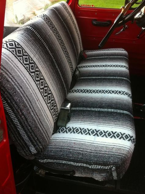 Mexican Blanket Seat Covers Blankets Throws Ideas Truck Seat Covers Truck Accessories Ford Truck Interior