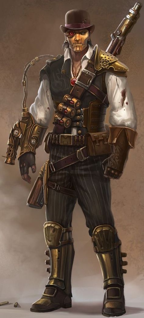 26+ Steampunk characters ideas in 2021