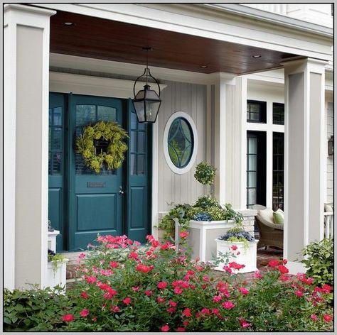 Best Color For Front Door With Beige Siding